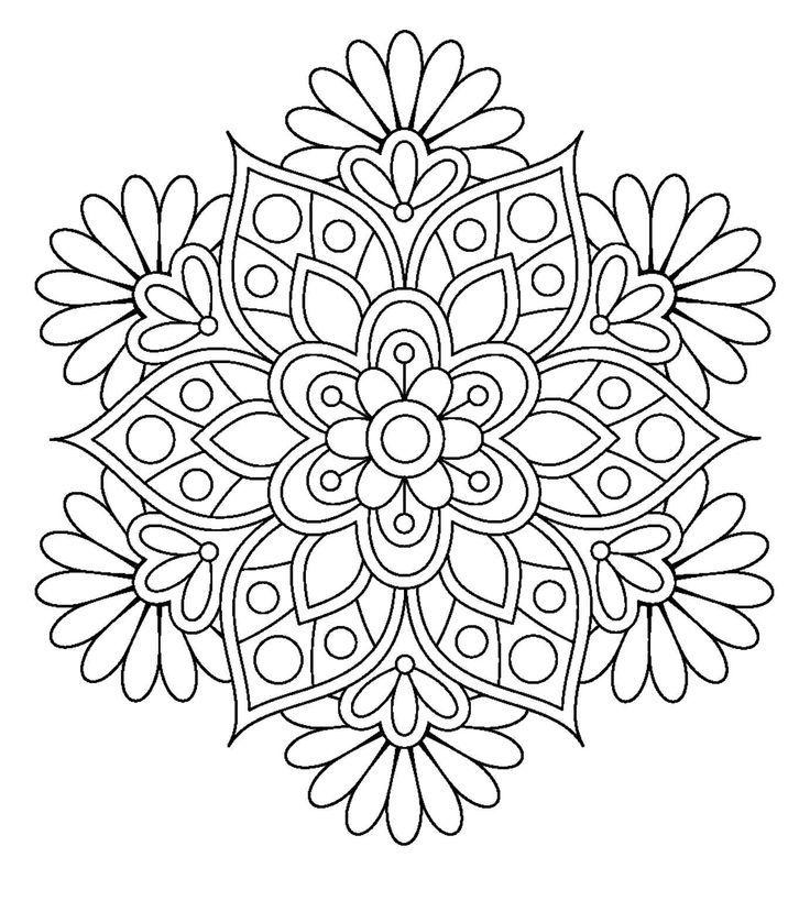 199de1889d8e9b3bb784f912d02a20c5 Jpg 736 829 Mandala Coloring Pages Mandala Coloring Coloring Pages For Grown Ups