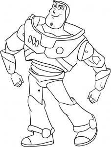 How to draw Buzz Lightyear step by step | Toy story ...