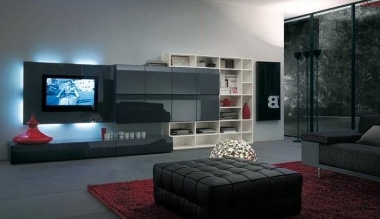 14 Chic And Modern Tv Wall Mount Ideas For Living Room  Black Tv Fascinating Tv Wall Mount Designs For Living Room 2018