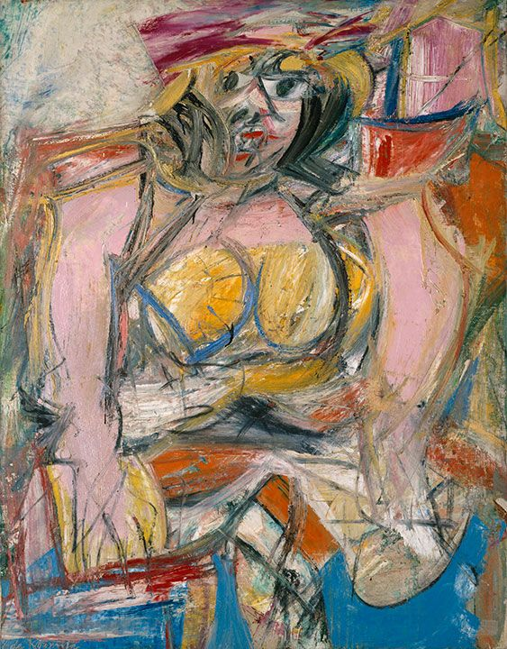 Image result for woman number IV de kooning