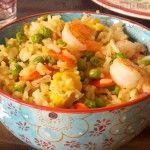 Quoi faire avec des crevettes / recette ramadan 2014
