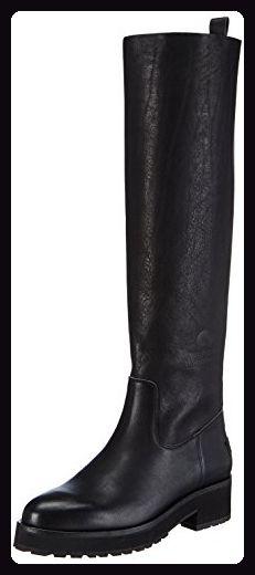 Shabbies Amsterdam Shabbies 3.5cm Tout À Fait Unique 45cm Botte Noir Farah, Botines Para Mujer, Negro-nègre, 39 Ue