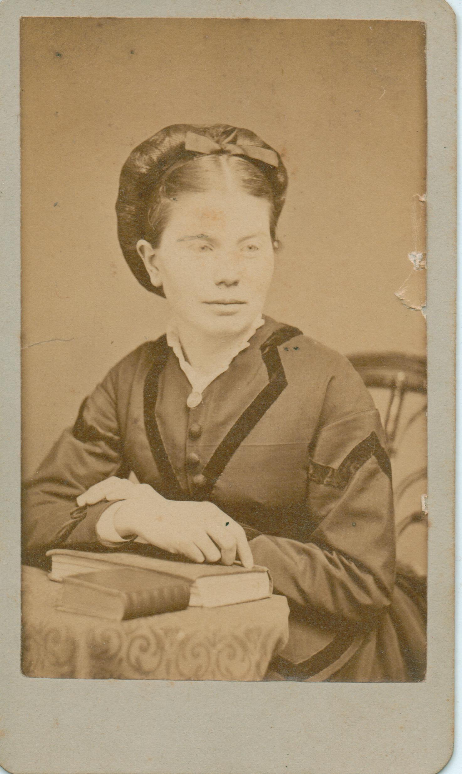 circa. 1863 Charles Gatfield's wife
