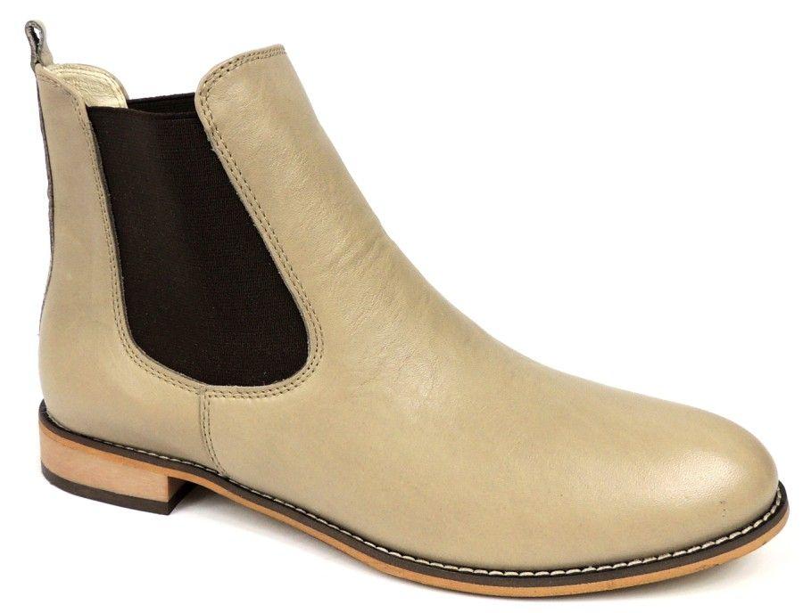 Sztyblety 2625 Bezowe Damskie Botki Intershoe Com Pl Boots Chelsea Boots Shoes