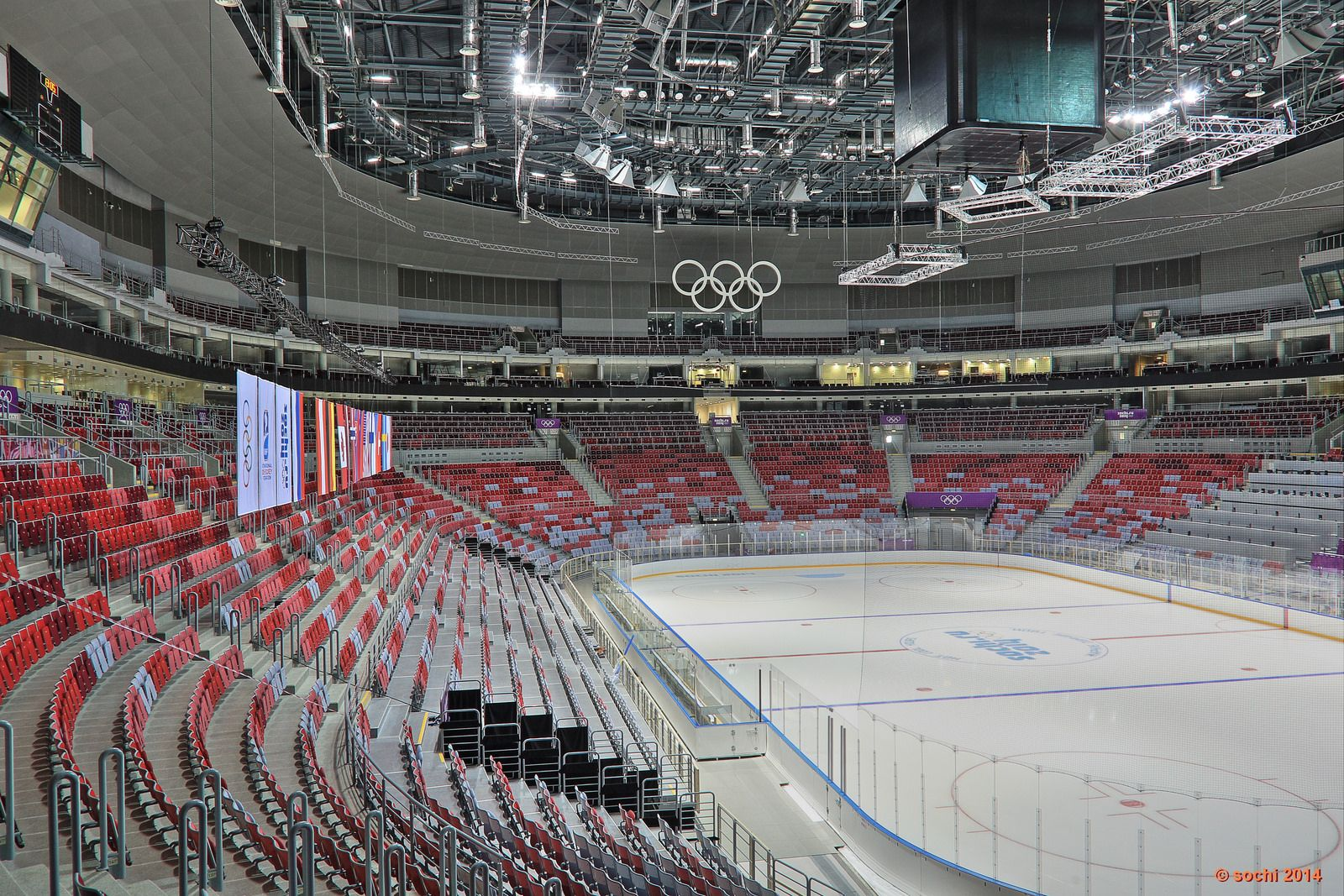 Inside The Sochi Olympic Hockey Arena Winter Olympics 2014 Russia Olympics Olympic Venues