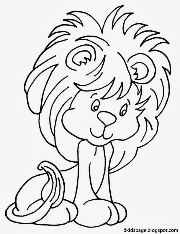 Pin By Kidspage Blog On Dkidspage Coloring Pages Lion Coloring Pages Cute Coloring Pages Animal Coloring Pages
