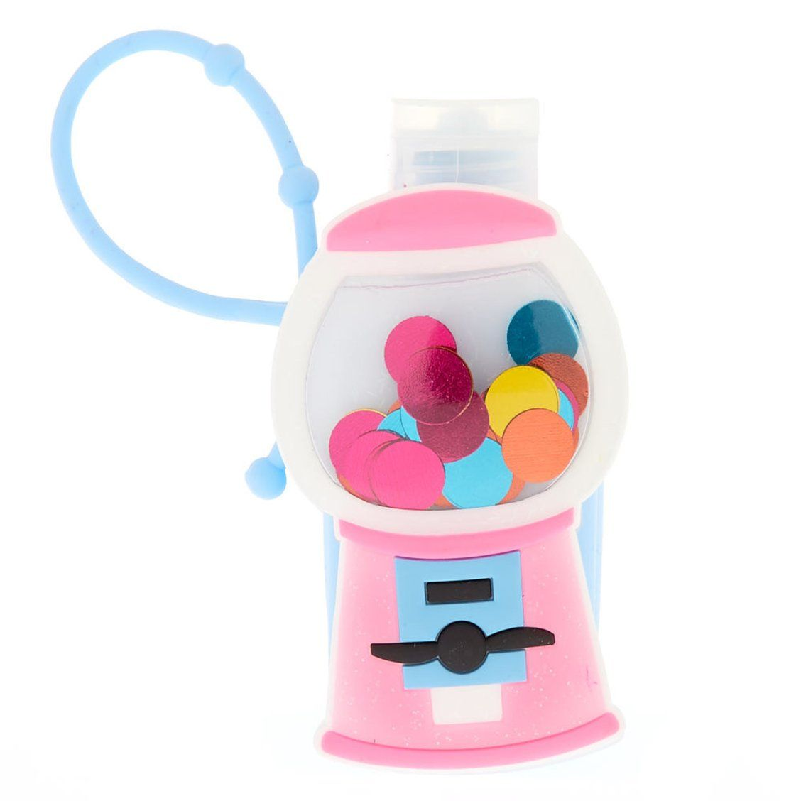 Gumball Machine Holder With Blueberry Scented Hand Lotion Give