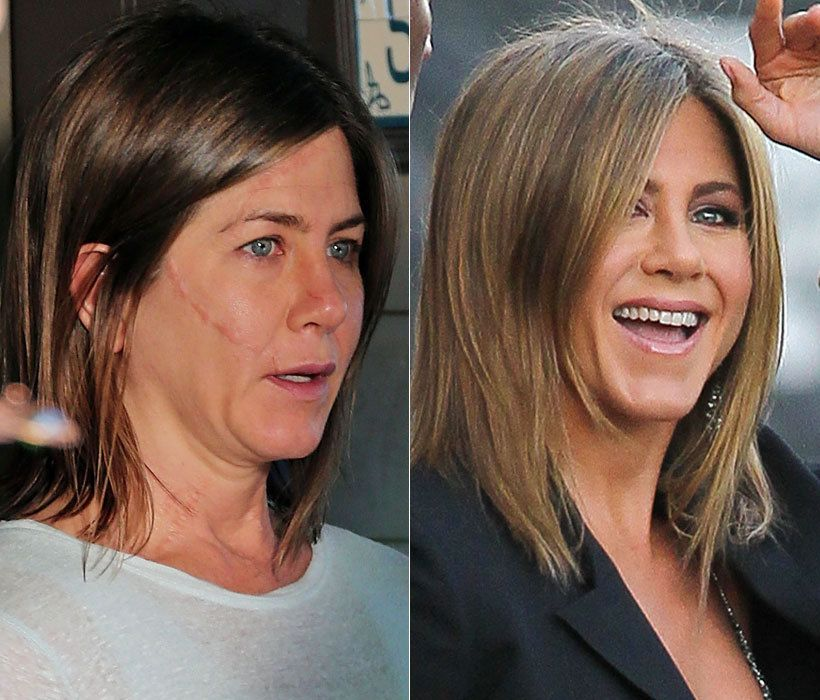 Celebrities without makeup / Célébrités sans maquillage