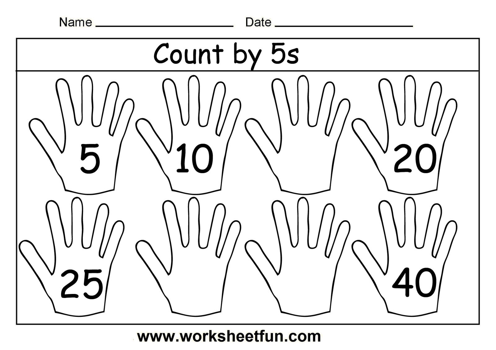 Count By 5s