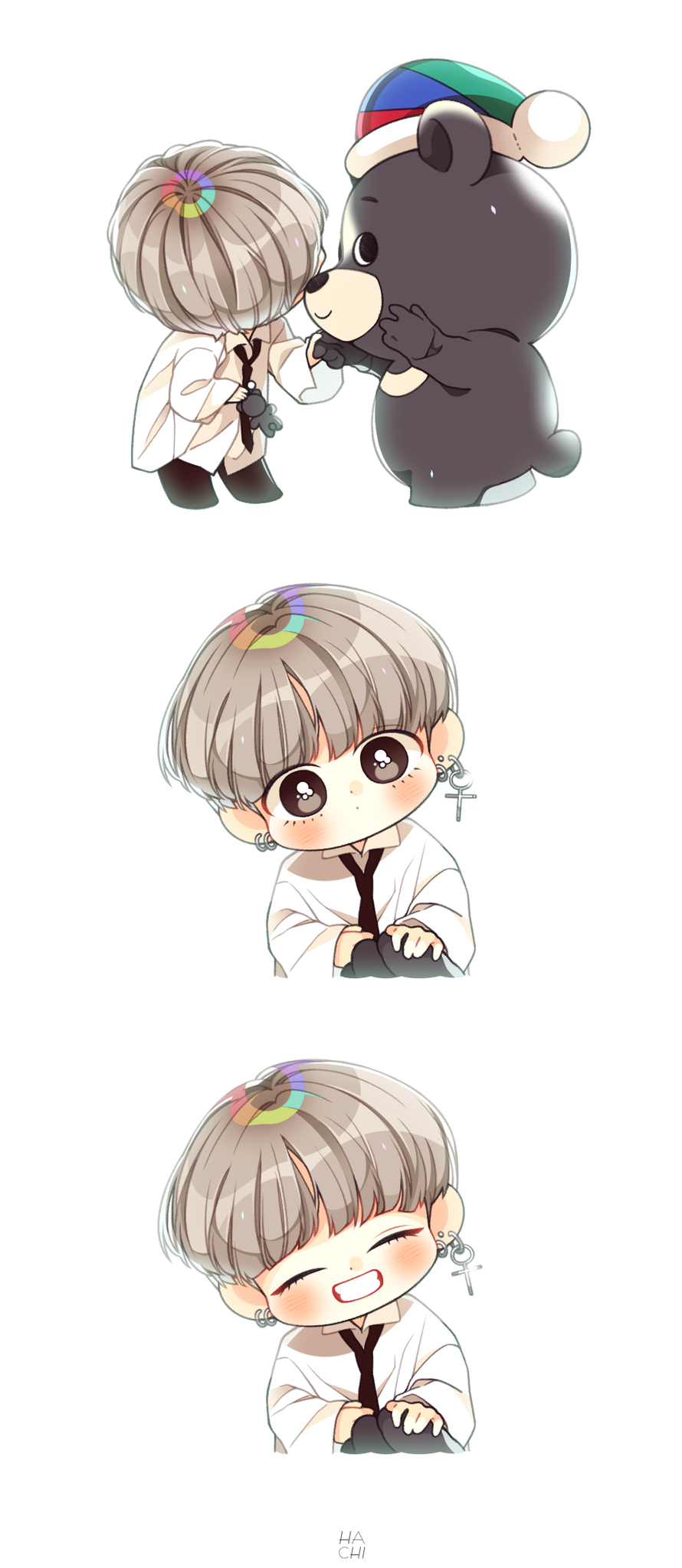 Taehyung As Snow White Cute Wallpaper 19 Best Bts Chibi Images On