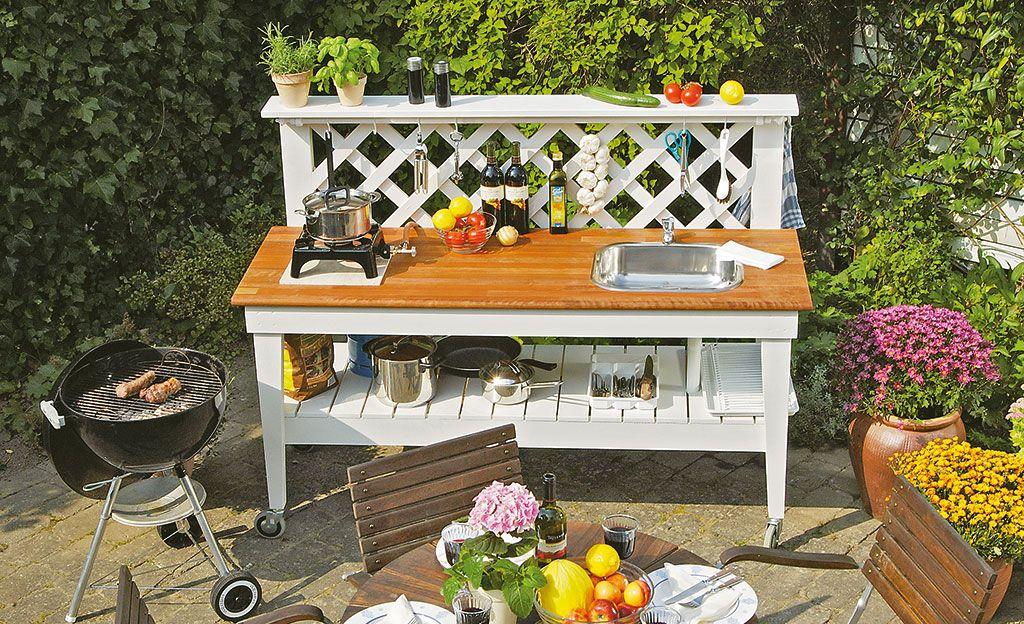 Gartenküche - outdoor küche selber bauen