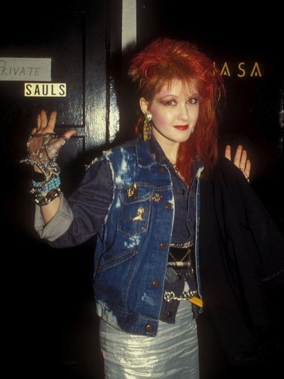 80s Pop Stars - Cindy Lauper