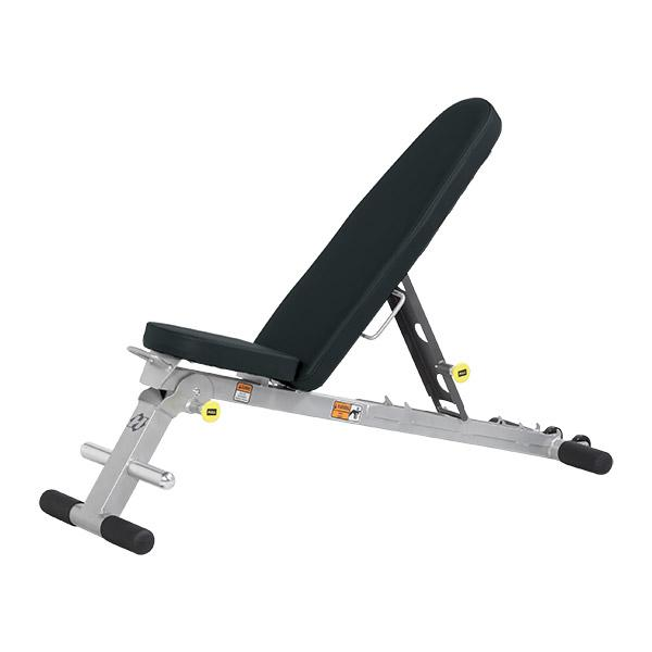 Hf 4145 Folding Multi Bench Hoist Fitness No Equipment Workout At Home Gym