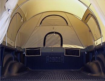 Kodiak Tent 7218 Canvas Truck Tent for 8Foot Long Bed