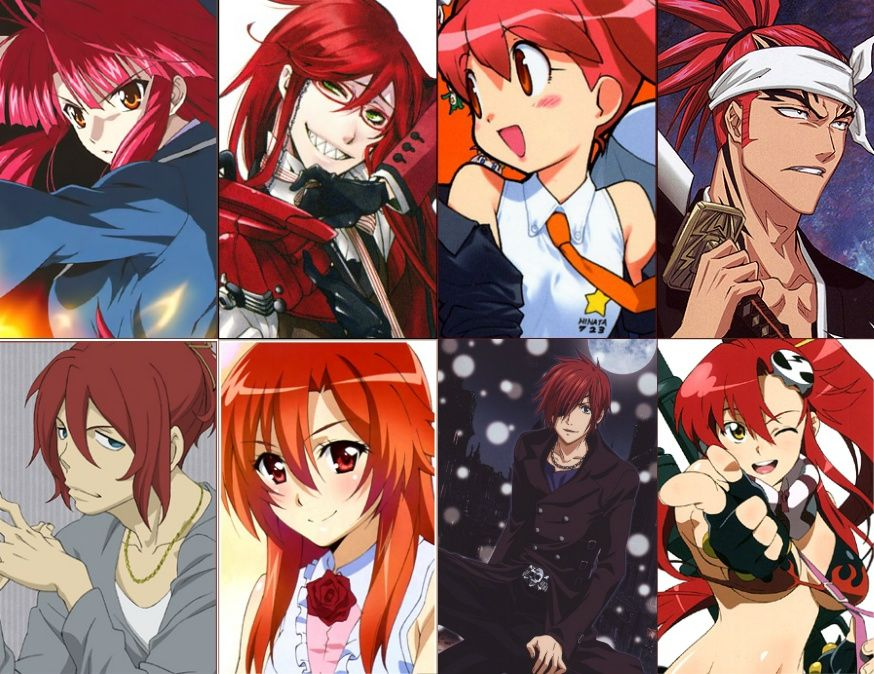 Red Hair Anime Characters Anime Hair Color Anime Hair Red Hair Anime Characters