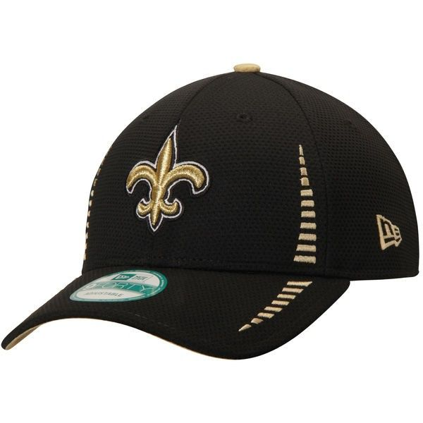 new styles c16cc e8c6c New+Orleans+Saints+Speed+9FORTY+Adjustable+Black+Hat+by+New+Era