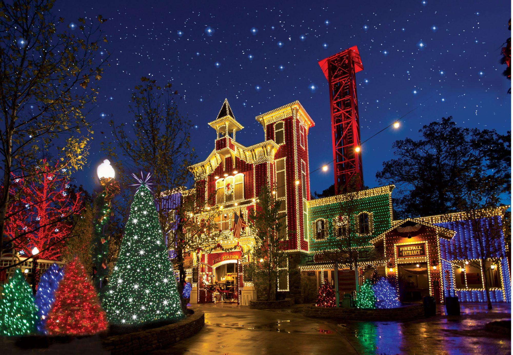 Experience The Magic Of Christmas In Branson Missouri Old Time Christmas Silver Dollar City Christmas Town