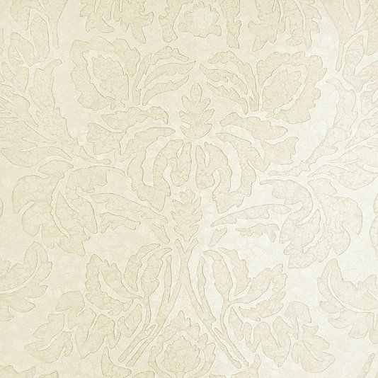 Aquarelle Damask Wallpaper Taupe Zoffany Town And Country