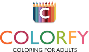 Coloring Book For Adults Free App By Fun Games For Free Coloring Books Books Book Logo
