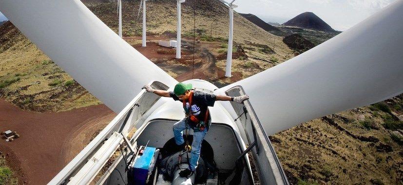 La capacidad global de energía eólica supera a la núclear por primera vez
