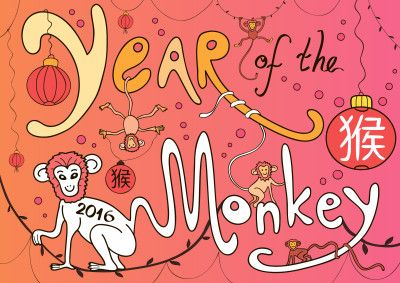 Catch The Dragon S Tail Year Of The Monkey New Year Coloring Pages Preschool Art Activities