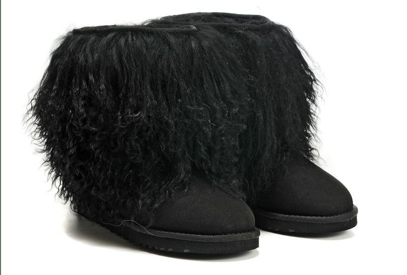 ugg sheepskin cuff boots black fashion ugg boots uggs boots rh pinterest com