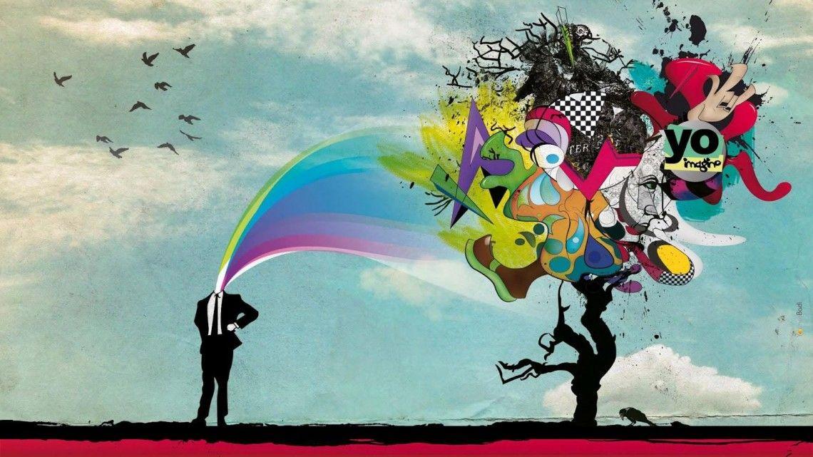 Creatividad es imaginacion.