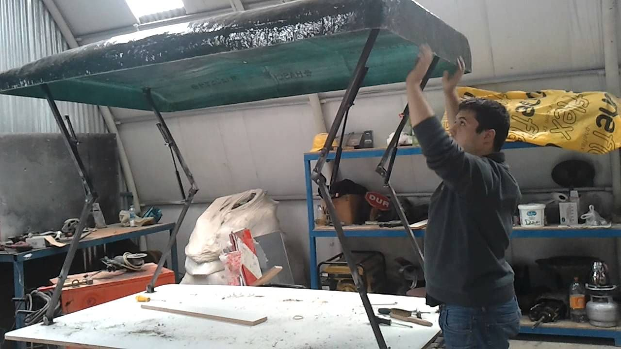 roof top tent project 2 bugout trailer Pinterest