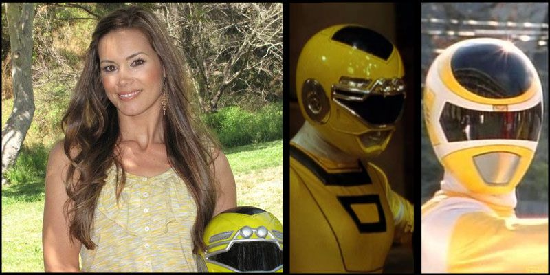 Ashley Hammond is the second Yellow Turbo Ranger of the