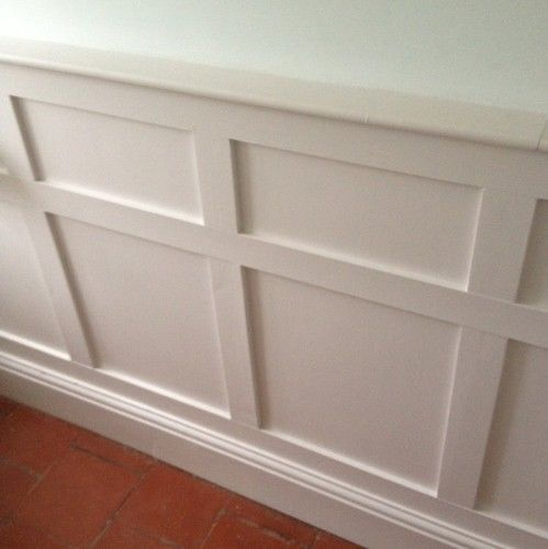 diy mdf decorative wall panelling panels shabby chic country living interior