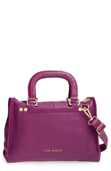 Ted Baker London Leather Tote Available At Nordstrom