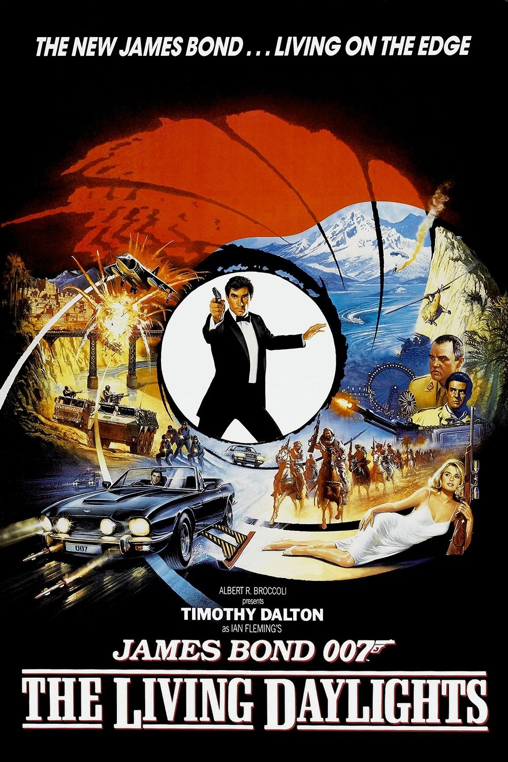 Image result for the living daylights poster
