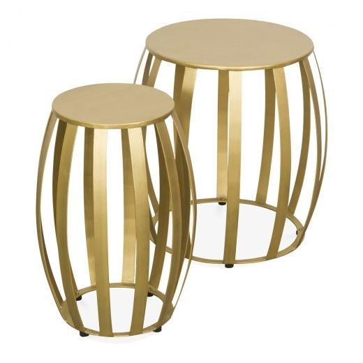 824c740e202 Industrial Living Artesia Nesting Side Tables