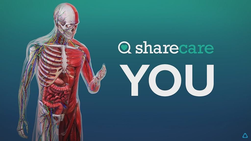 Sharecare Launches 3d Virtual Human Body On Htc Vive An Interactive