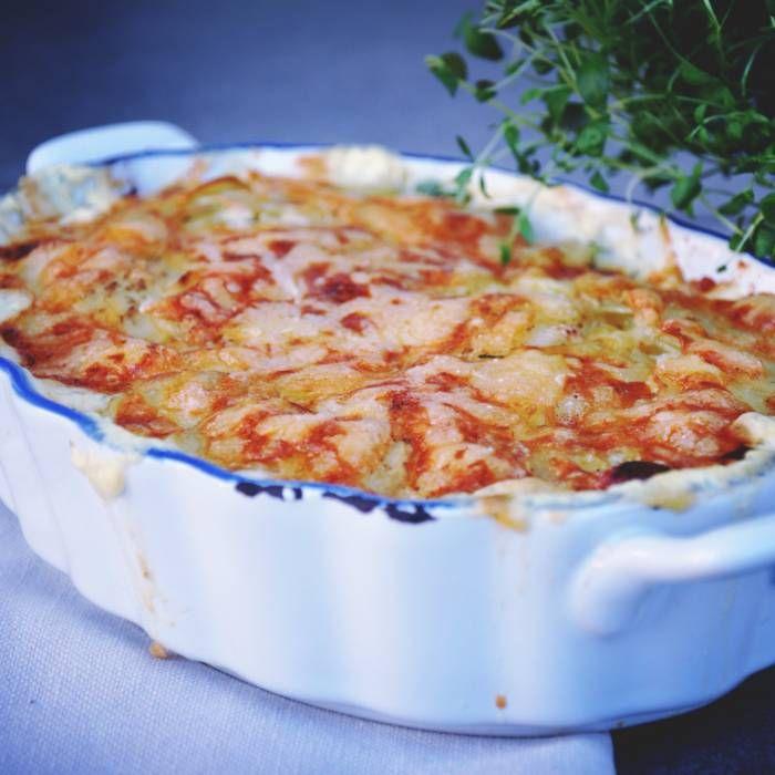 världens godaste potatisgratäng recept