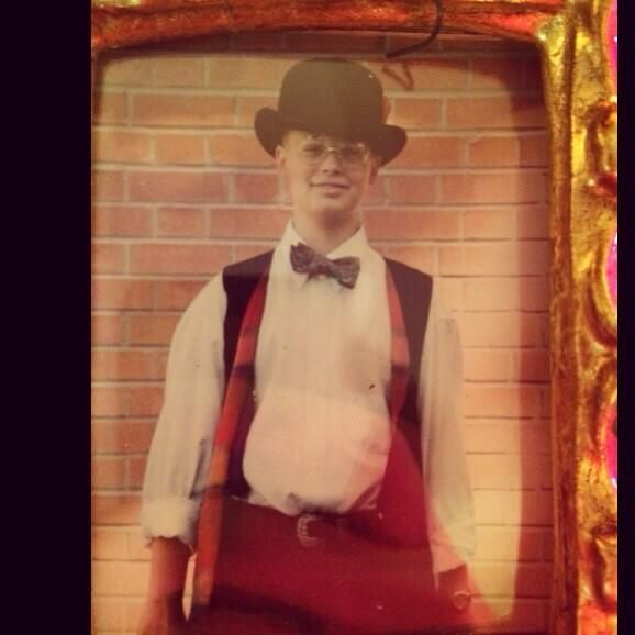 """""""me in junior high when most of my friends where imaginary and all of my vests where reversible"""""""