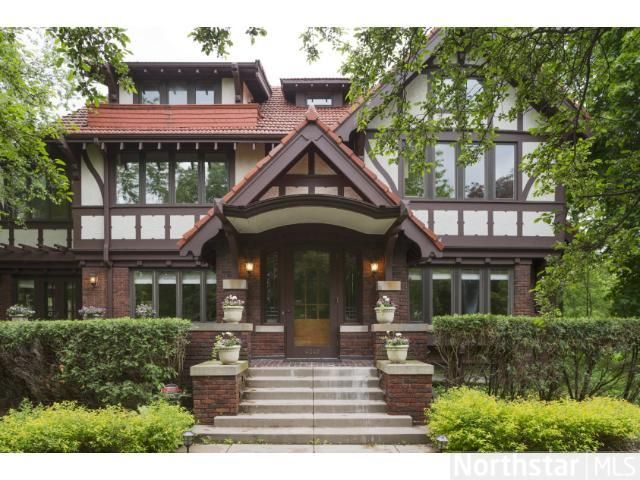 Amazing Tudor Style Home For Sale By Lake Harriet In Minneapolis Mn Tudor Style Homes Historic Homes House Styles