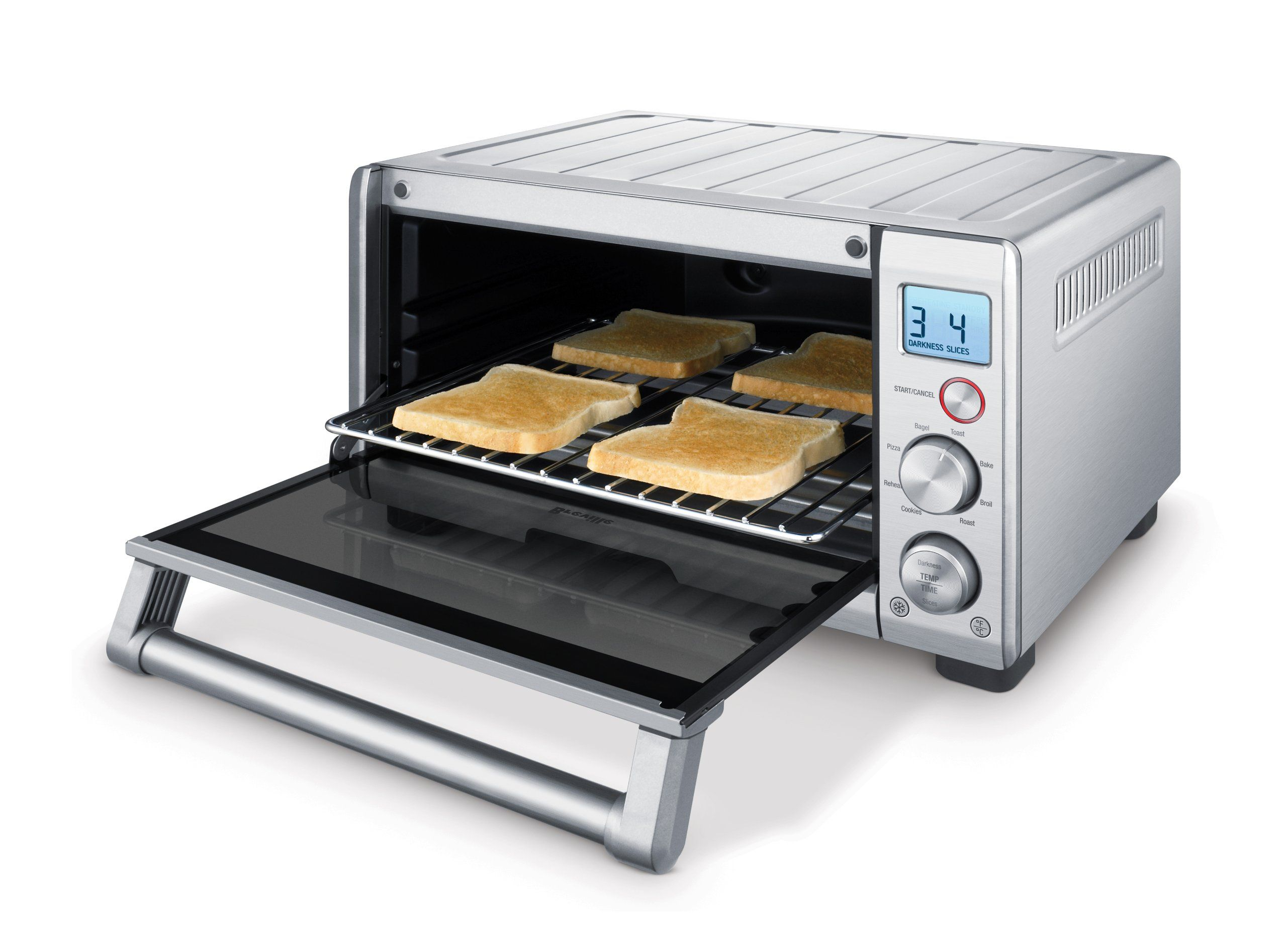 Breville Bov650xl The Compact Smart Oven Stainless Steel You
