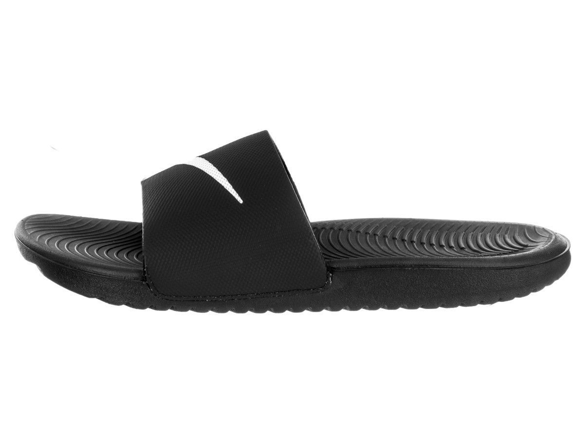 ffbfa743e Nike Kawa Slide 832646-010 Black Slippers Men