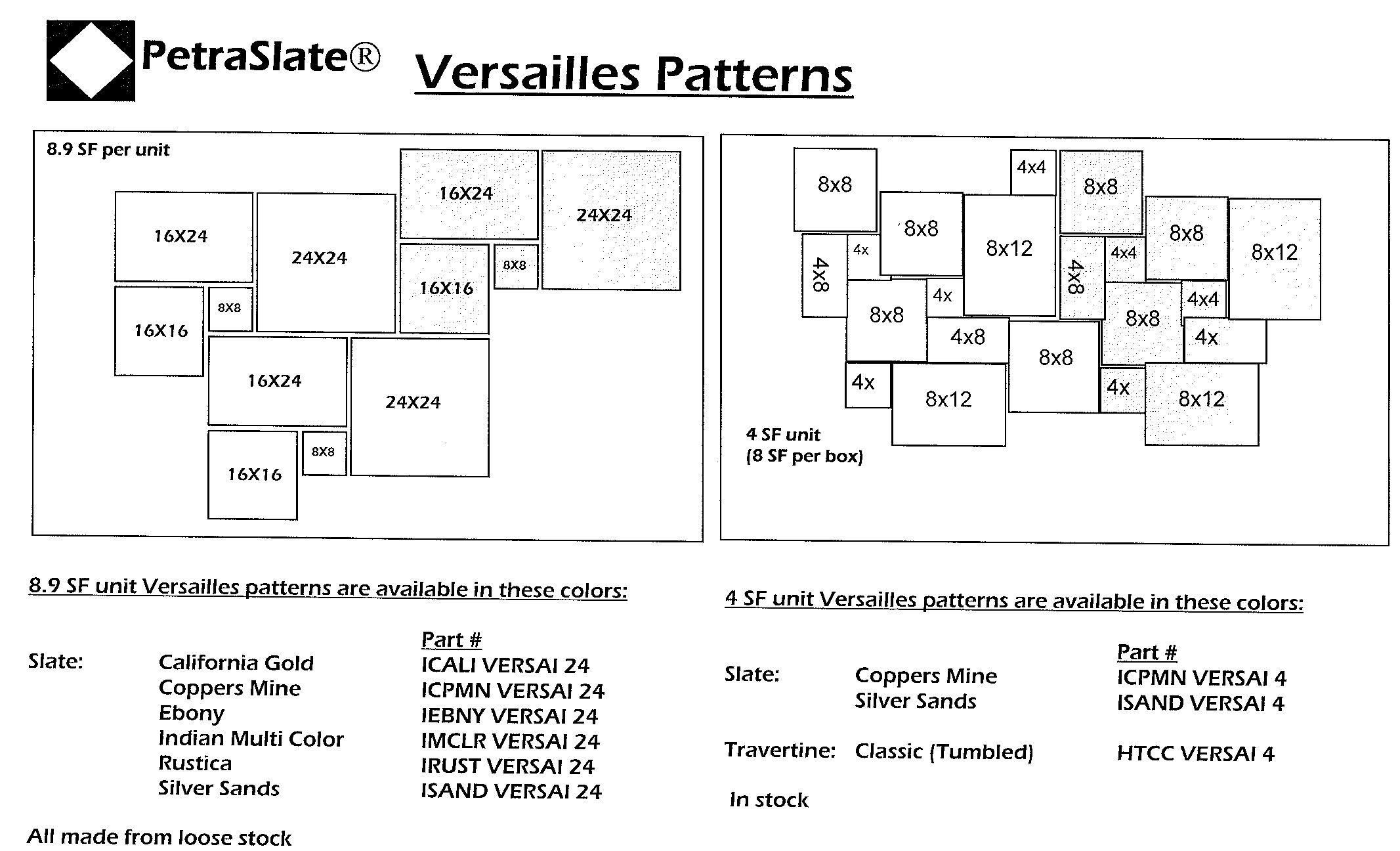 Versaille Pattern Simple Decorating Design