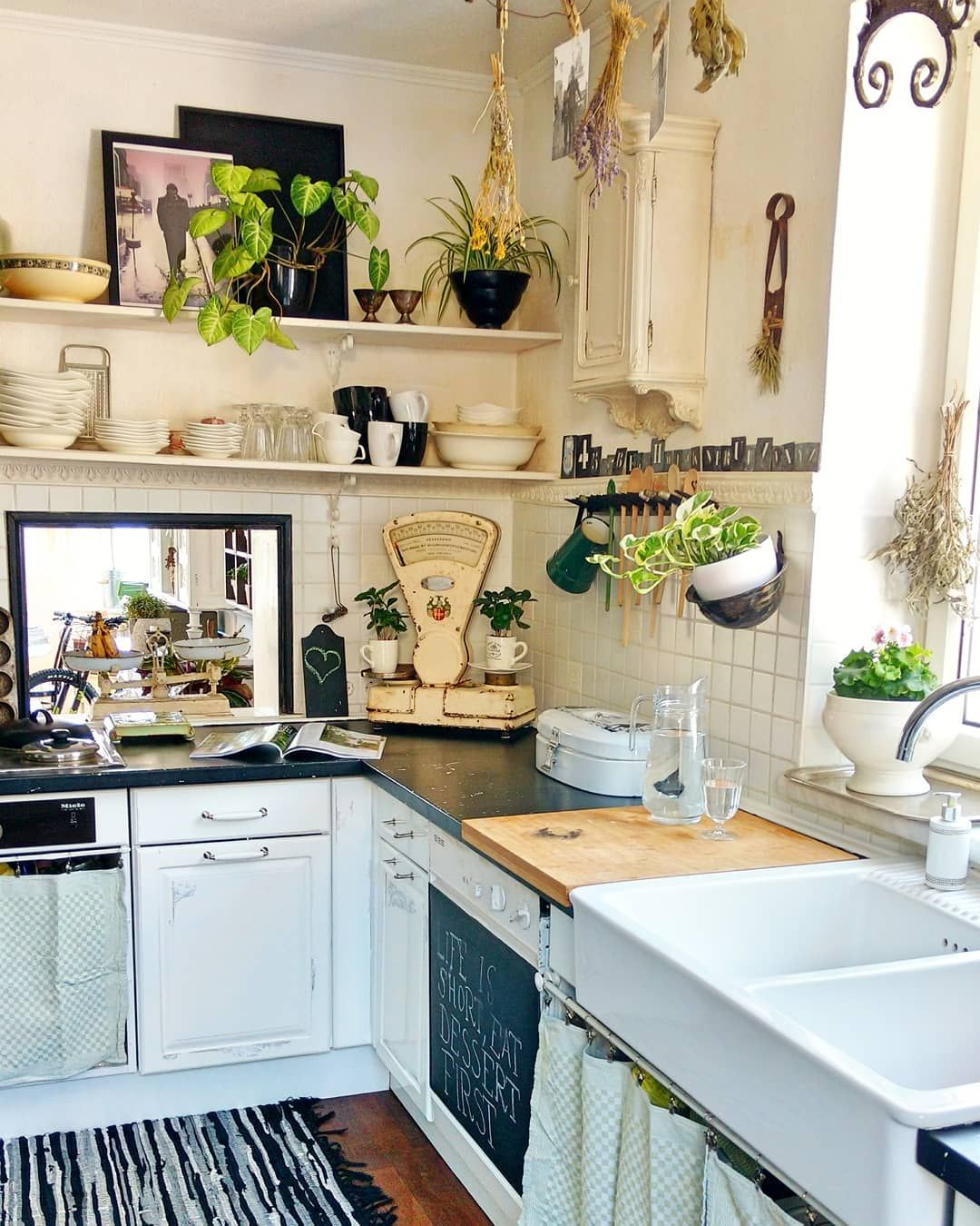 46 Fabulous Country Kitchen Designs Ideas: Pin By Lmsprinkle On Decor In 2019