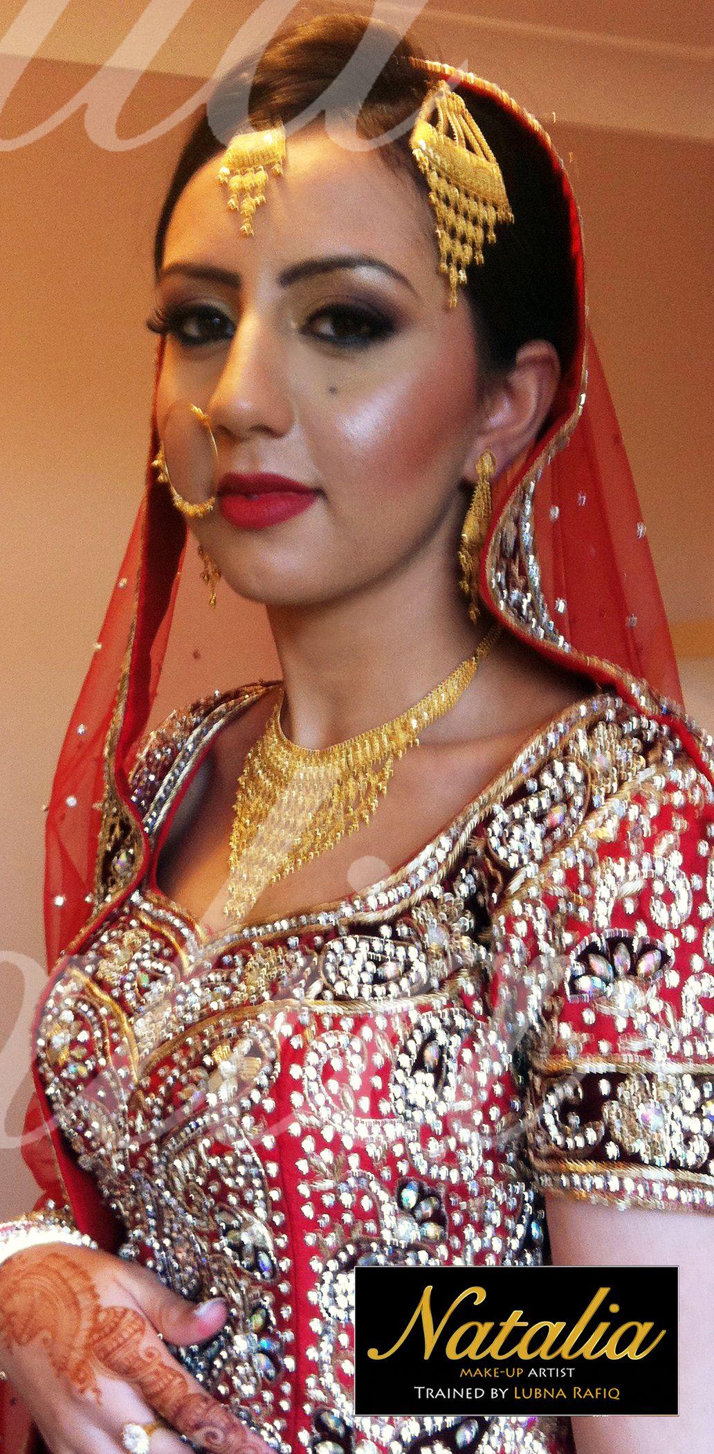 hair and make-up by natalia ~ traditional bridal #bridal