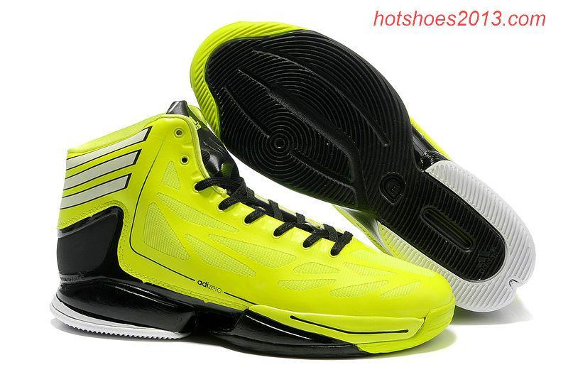 New Adidas Adizero Crazy Light 2 Derrick Rose Shoes Yellow Black