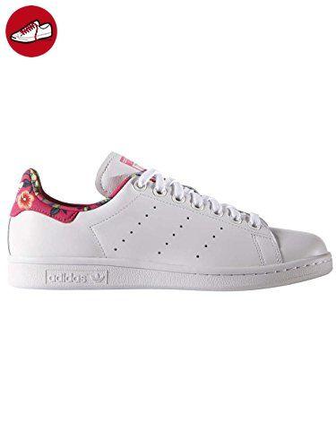 Adidas Damen Stan Smith W Halbschuhe, Mehrfarbig (Ftwwht/Ftwwht/Raypnk),