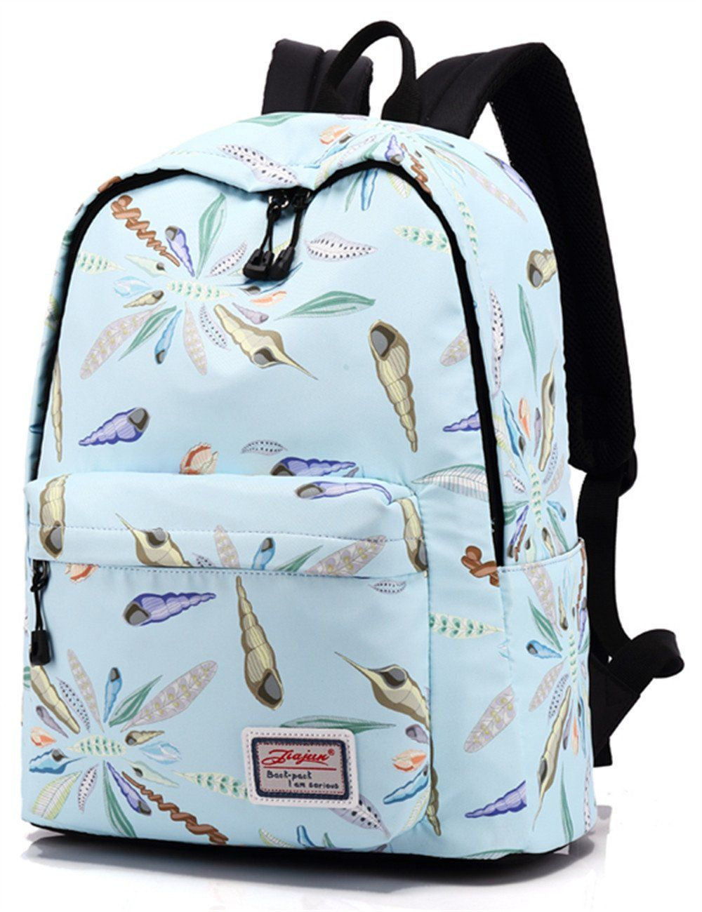 Backpack for Teens, Fashion Conch Pattern Backpack College Bags ...