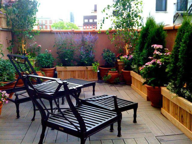 108 Gestaltungsideen Für Terrassen, Dachterrasse & Balkon – ragopige ...