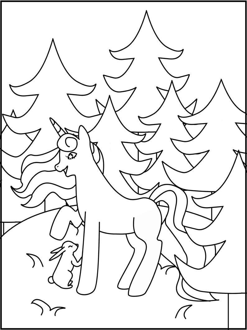 Set 1 10 Unicorn Coloring Pages Printable Unicorn Etsy In 2021 Unicorn Coloring Pages Coloring Pages Unicorn Printables