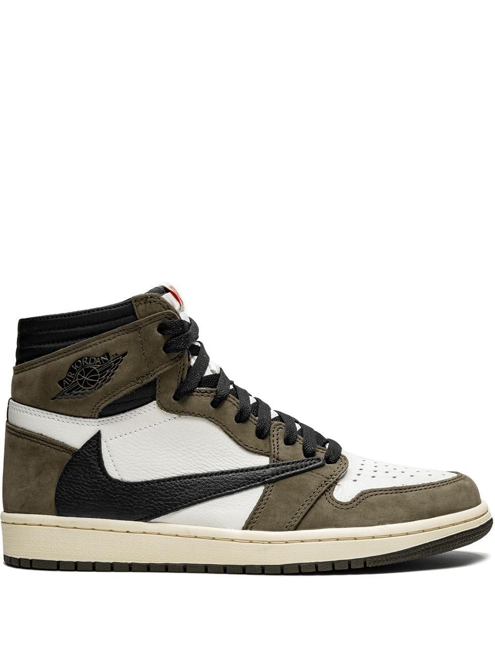 X Travis Scott Air Jordan 1 Hi Og Sneakers With Images Air