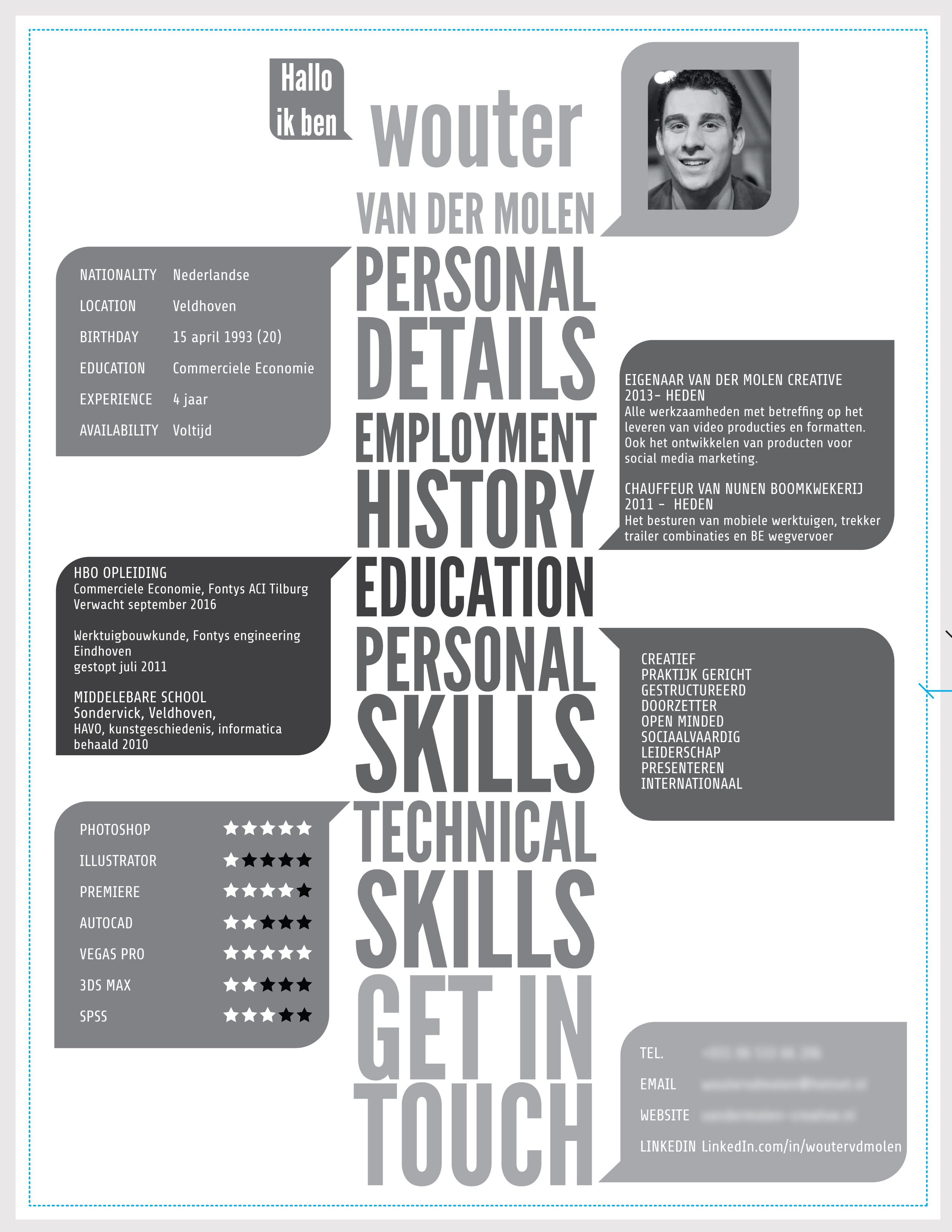 cv creatief   Google zoeken | CV | Pinterest | Creative cv