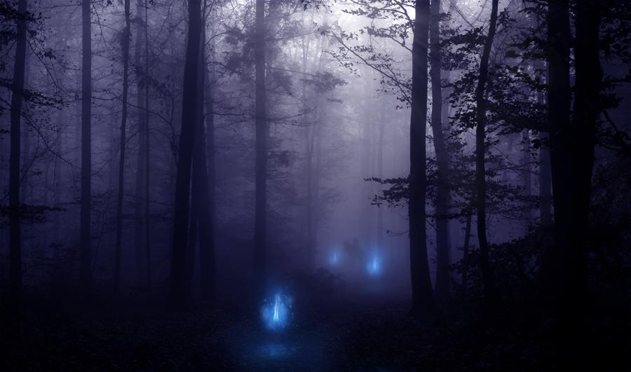La Luz Mala. Leyenda Gaucha – El Blog de Zack | Fotos de terror, Paisaje de  fantasía, Terapia del arte